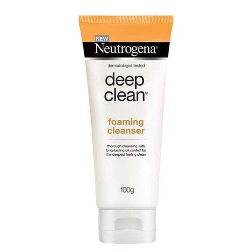 Deep Clean Foaming Cleanser face wash