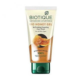 Biotique Bio Honey Gel Refreshing Foaming Face Wash India 2020
