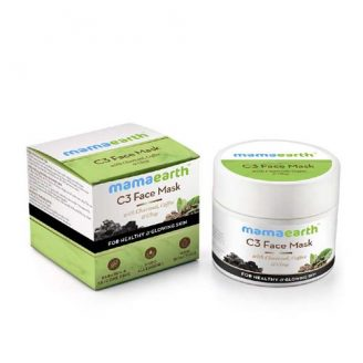 Mamaearth Charcoal, Coffee and Clay Face Mask India 2020