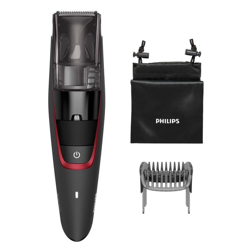 Philips vacuum hair trimmer is one of the finest hair trimmer for men