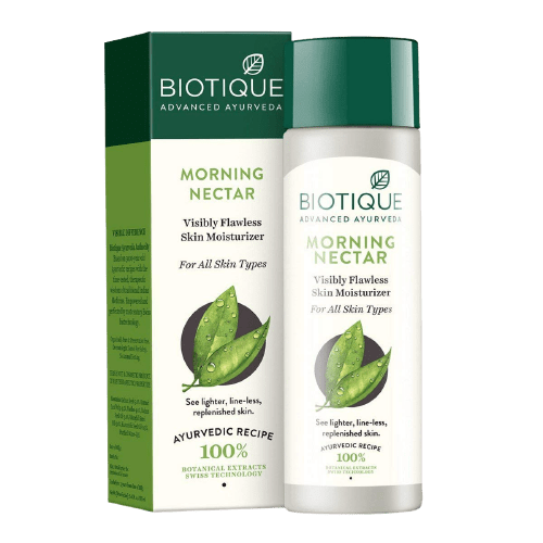 Biotique is a ayurvedic beauty care brand which never harm your skin because it does not contain any harmful component