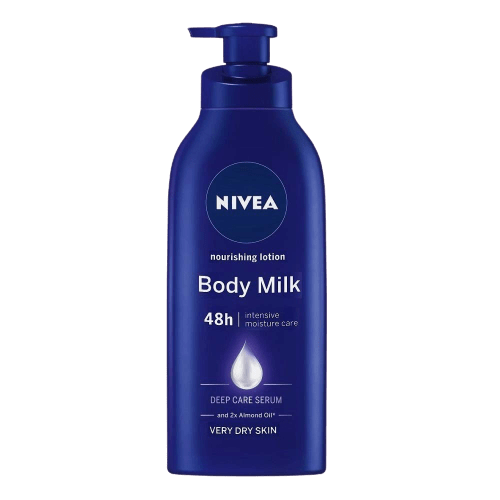 Nivea  nourishing body lotion and moisturizer is the best lotion for dry skin winter